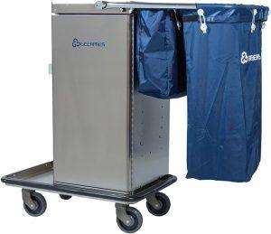 Cart with Microfiber Bag System Option