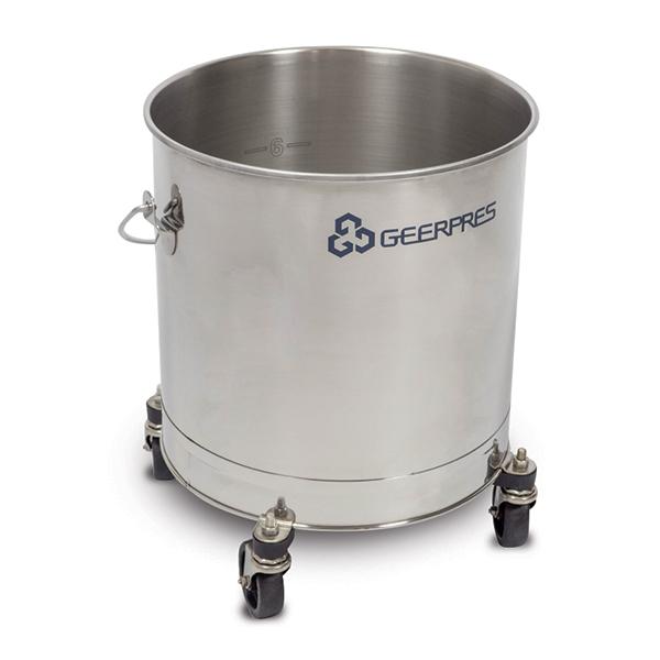 Stainless Steel Round Bucket Image