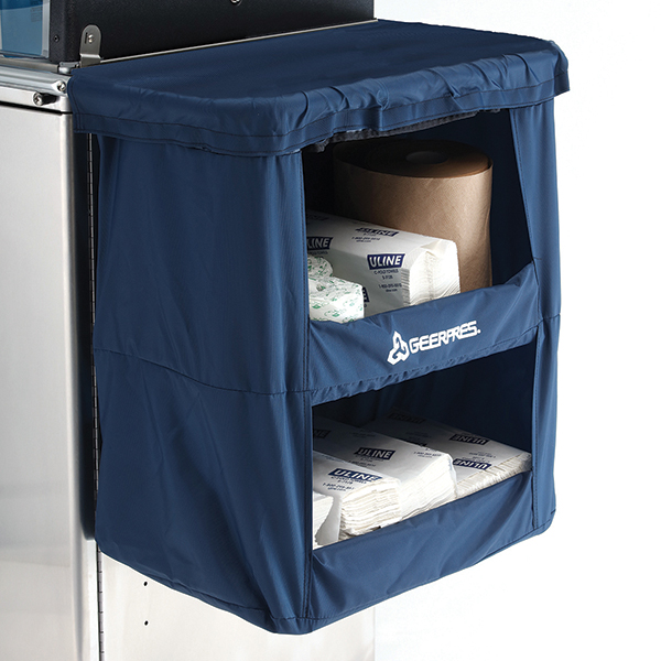 Cart with Dry Dock 2-Shelf Storage